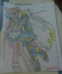 Stocking and Eve Heart (finished) by Stocking679