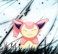 Skitty by experimental-thing
