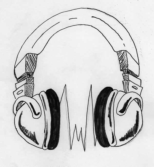 headphones by madhouse-tattoos on DeviantArt on log home designs, jacque fresco home designs, michael aram designs,