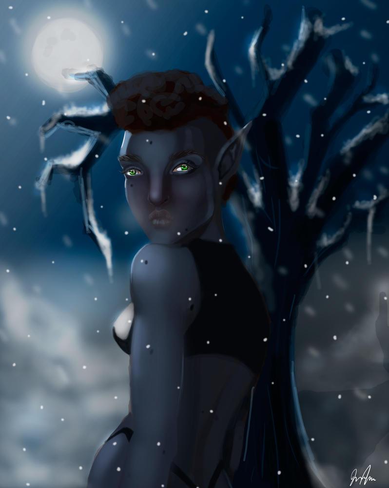 SnowyWish by Jnhotboy