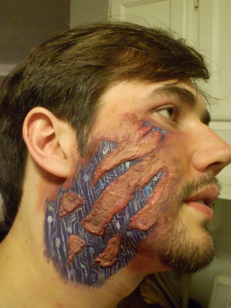 Illusive Man Makeup Test - Take #2 by Nefthys