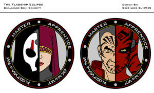 Flagship Eclipse Coin Design 3 by Nefthys