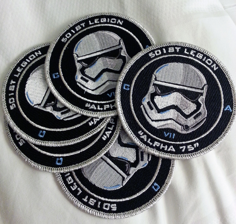 501st Legion Alpha 75 Patch by Nefthys