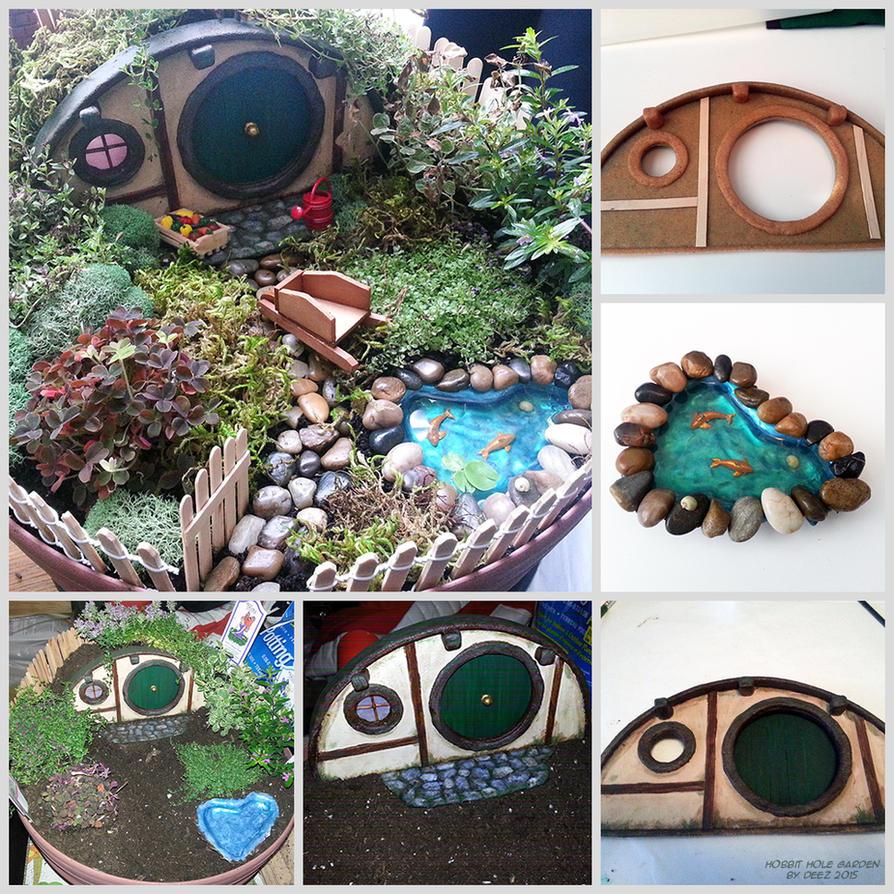 Hobbit Hole Garden by Nefthys