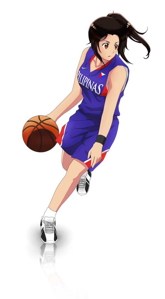 how to draw anime throwing basketball