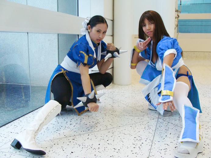 Chun Li And Kasumi By Hikaru-Jan On DeviantArt