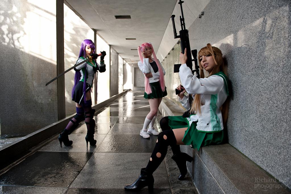 Highschool of the Dead Girls by Hikaru-Jan