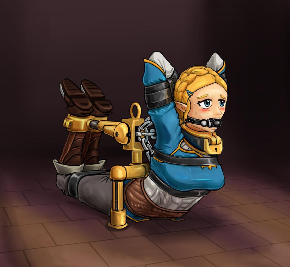Zelda ( breath of the wild ) by Ravenor11