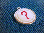 Question mark pendant by mygeekymuse