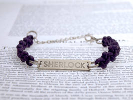Sherlock bracelet (Zigzag Braid)