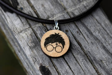 Harry Potter necklace by mygeekymuse