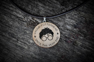 Potterhead necklace (Harry Potter) by mygeekymuse