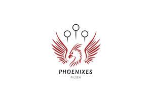 Phoenixes Pilsen Logo - Muggle Quidditch Team