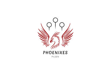 Phoenixes Pilsen Logo - Muggle Quidditch Team by mygeekymuse
