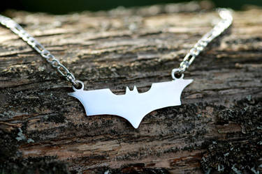 Batman necklace by mygeekymuse
