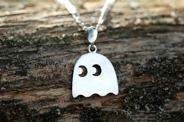 Ghost (Pac-Man) necklace