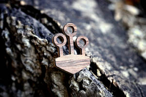 Quidditch Rings Brooch (Harry Potter)