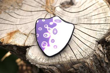 Shield Brooch (Free Tutorial)