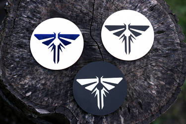 Fireflies coasters (The Last of Us)