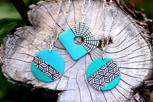 Turquoise Pendants (Free Tutorial)