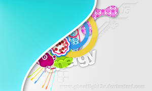 Color vector PSD wallpaper