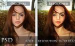 PSD - Portrait retouch