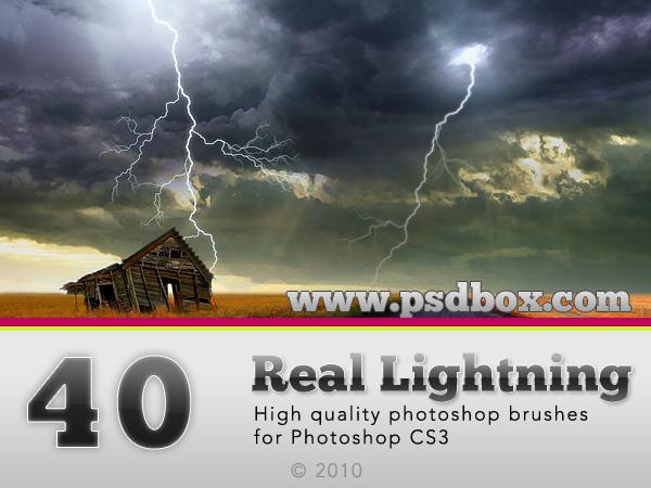 40 HQ Lightning Bolt brushes