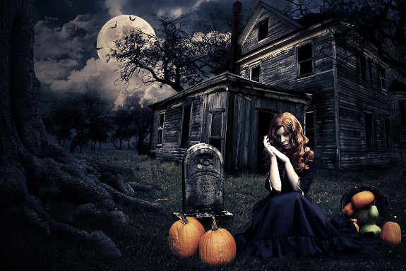Halloween Photoshop Tutorial by Andrei-Oprinca