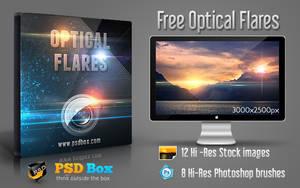 Free Optical Flares Stock