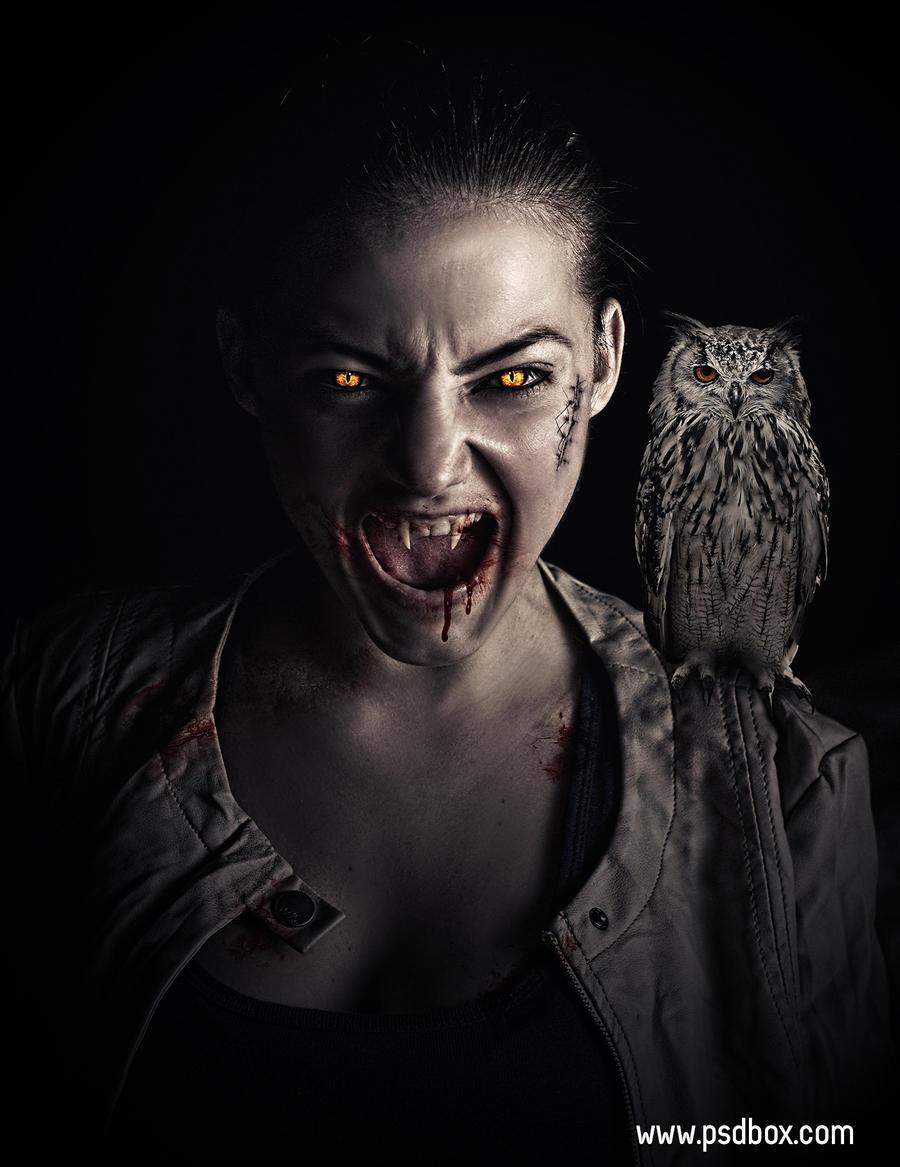 Vampire Photoshop Tutorial by Andrei-Oprinca