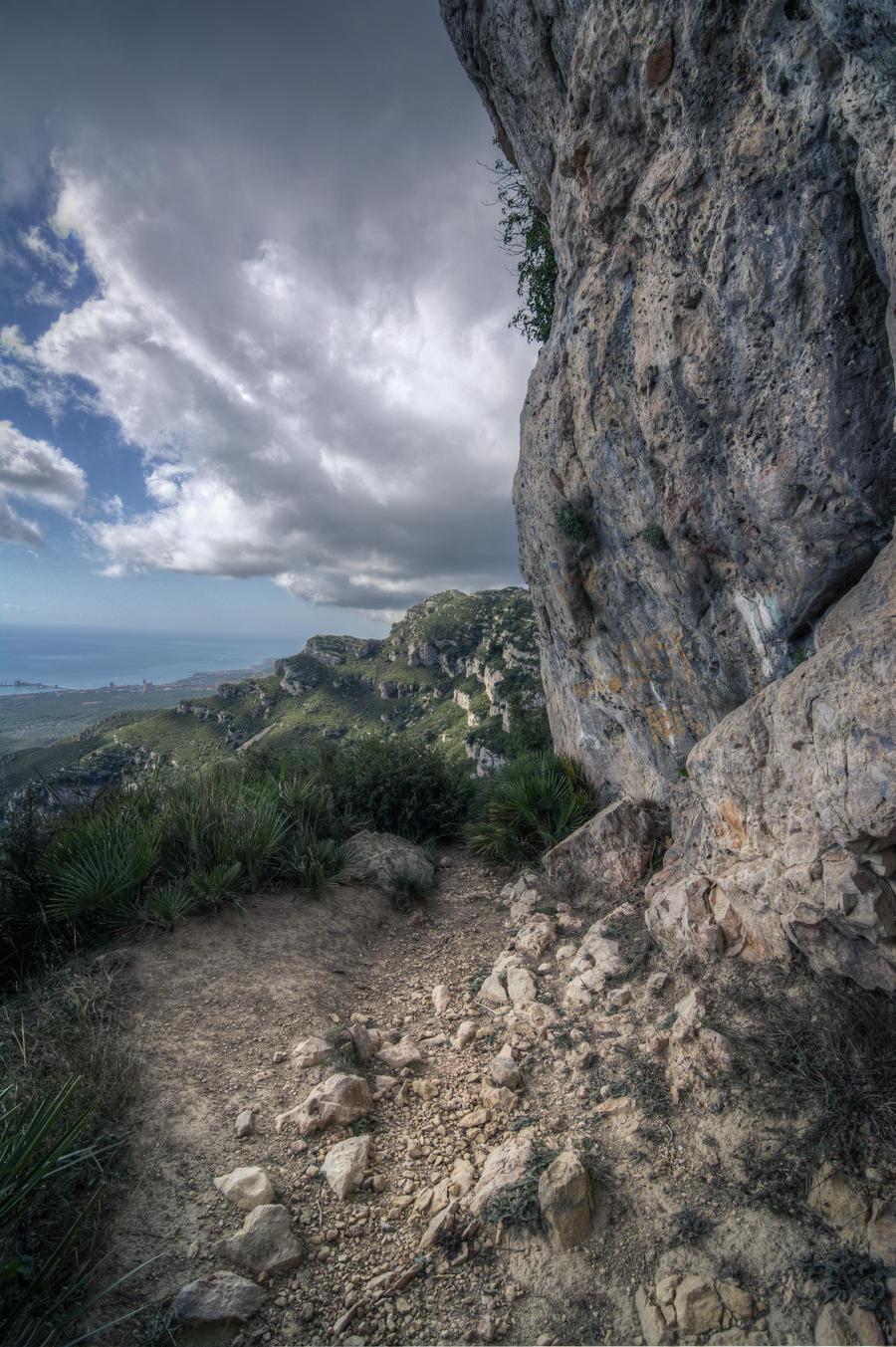 wallpaper mountain path - photo #36