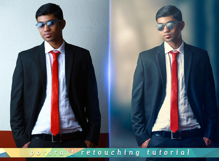 Dramatic Portrait Photoshop Tutorial Free