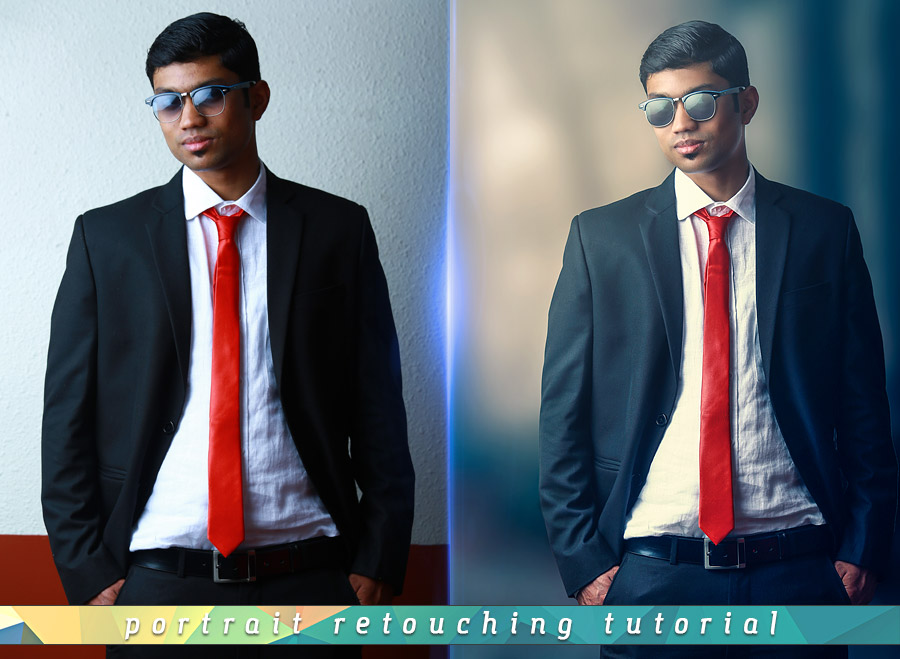 Dramatic Portrait Photoshop Tutorial Free by Andrei-Oprinca