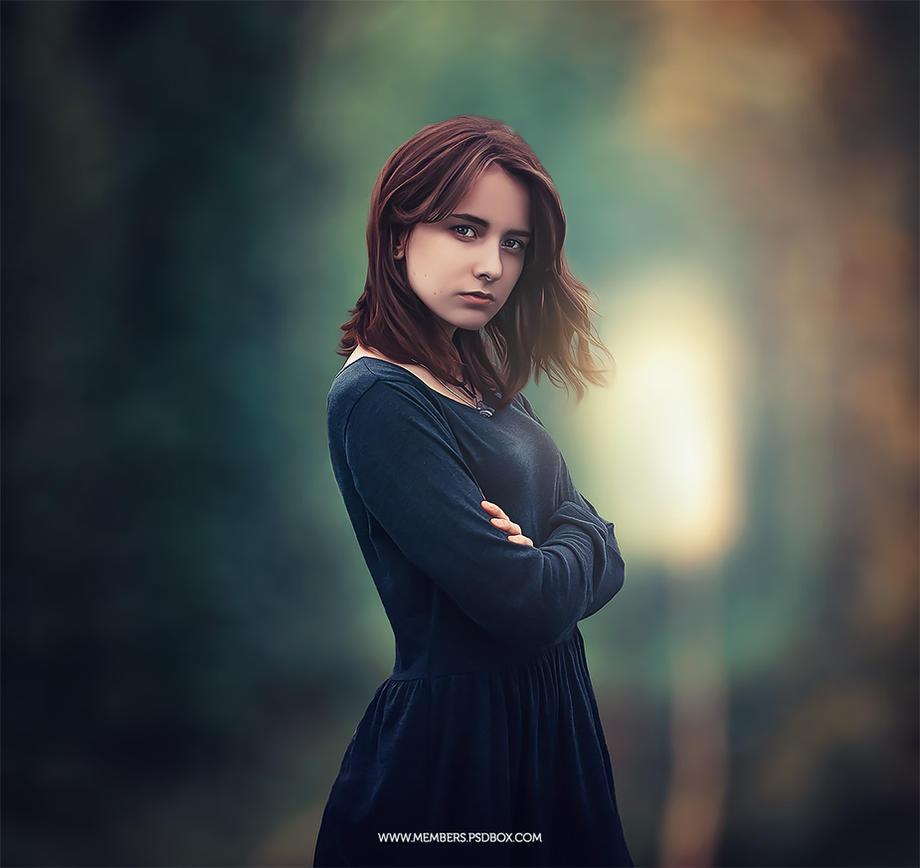 Beautiful Portrait effect by Andrei-Oprinca
