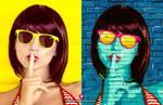 Pop art Free Photoshop Effect PSD