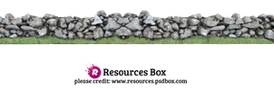 Rock Wall PNG Stock
