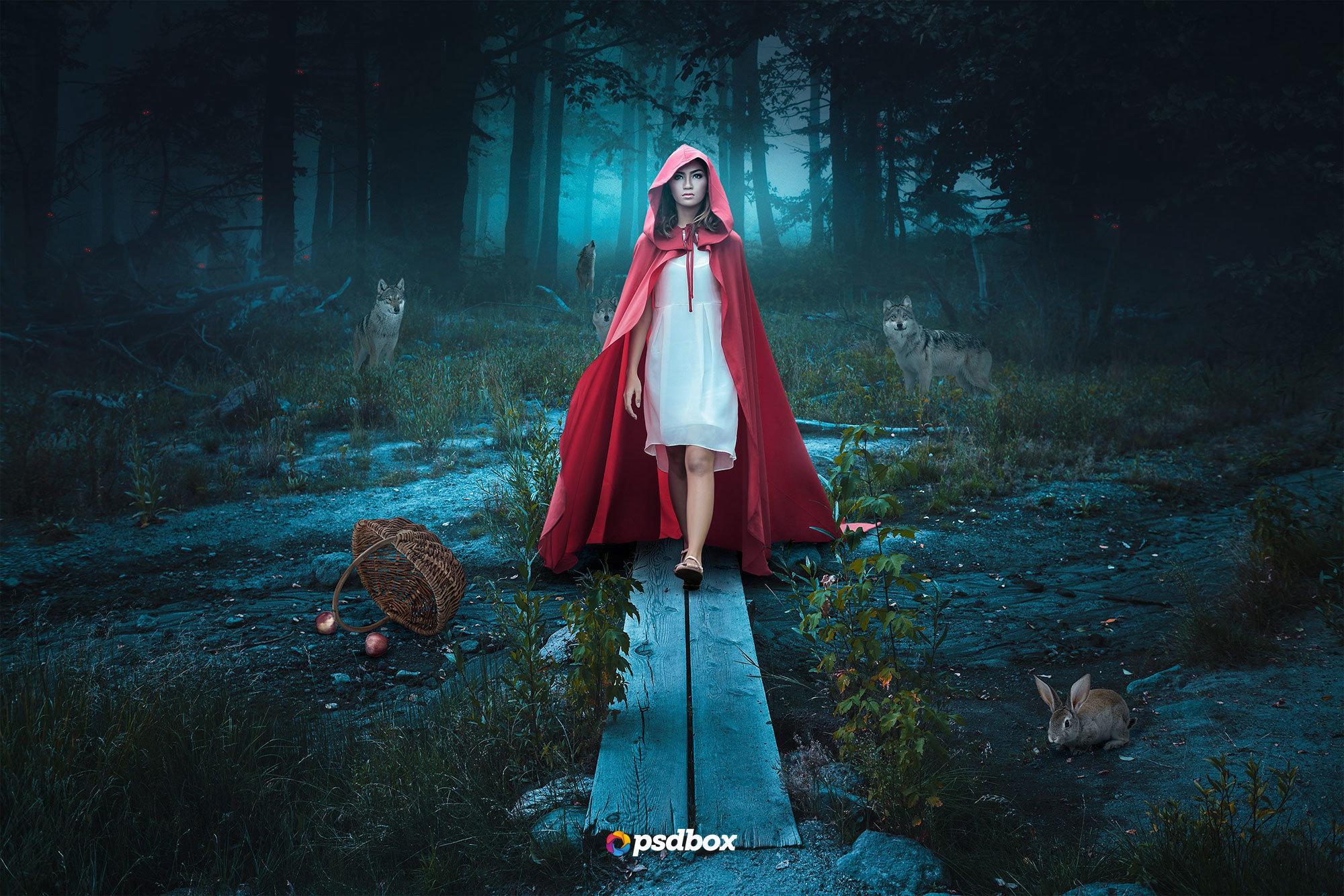 The Dark Forest (Premium Tutorial) by Andrei-Oprinca