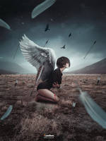 Sacrifice (Photoshop Tutorial) by Andrei-Oprinca