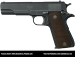 Colt Pistol - Free PNG Stock