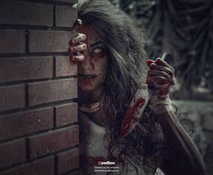 Demonic Portrait by Andrei-Oprinca