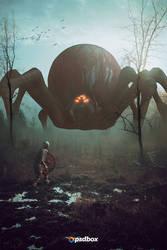 Fantasy Spider - Free Photoshop tutorial