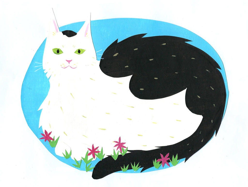 my cat by TomTheBear