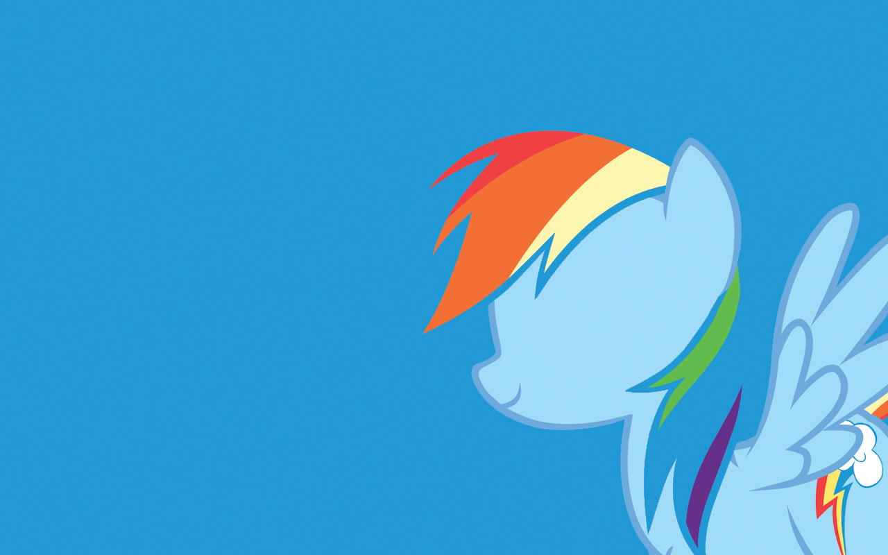 My Little Pony Wallpaper - Rainbow Dash by TheZoraWizard ...