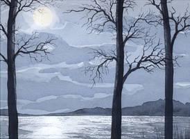 Moonlight by louise-art