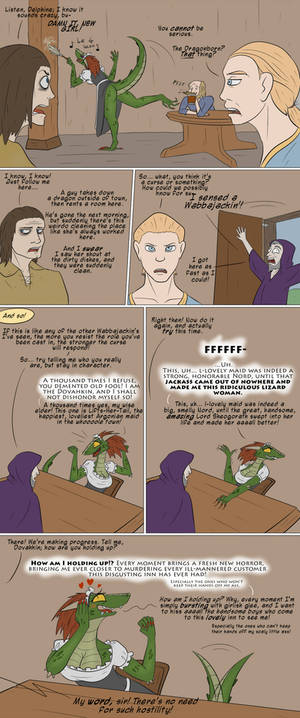 Lusty Argonian Maid'd, Part 3: The Exposition!
