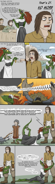 Lusty lizard