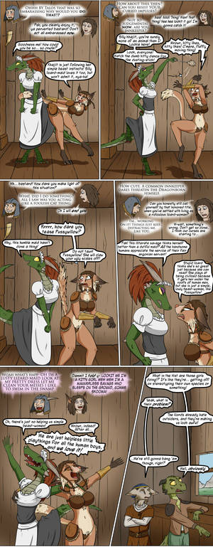 Lusty Argonian Maid'd, Part 14: The Stereotypening