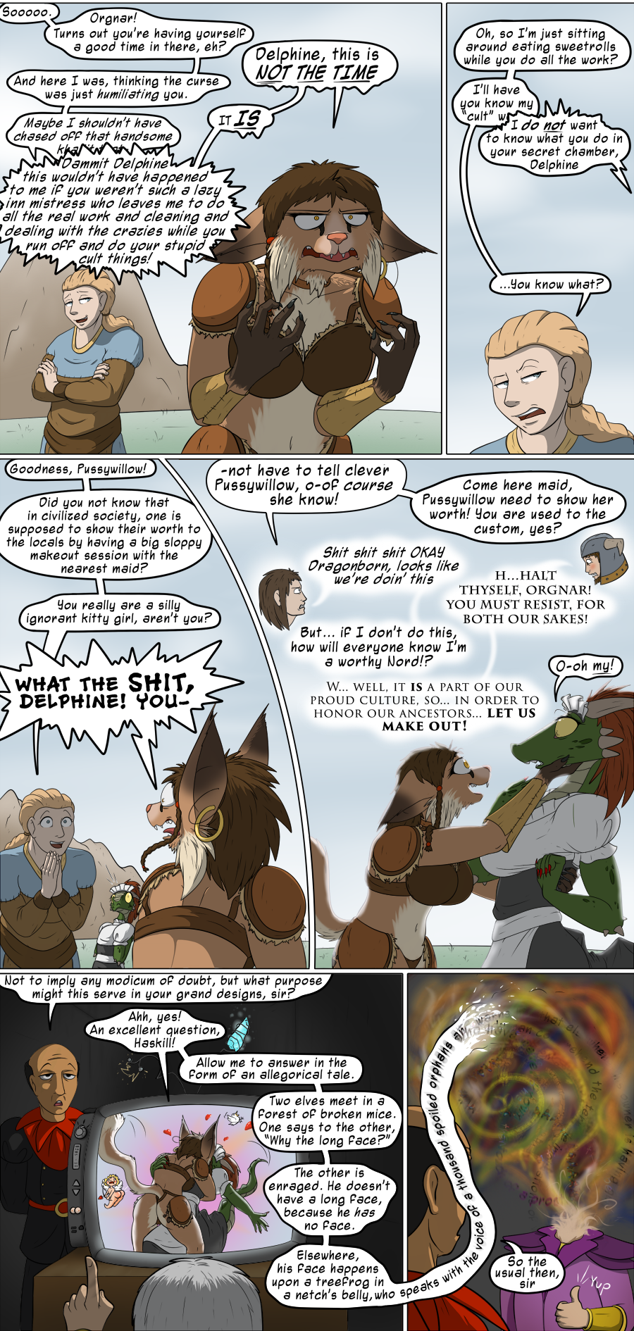 Lusty Argonian Maid'd, Part 19: The Sitcom-ening