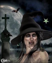 Portrait d'halloween by cflonflon