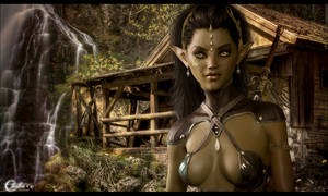 Elfe chasseresse